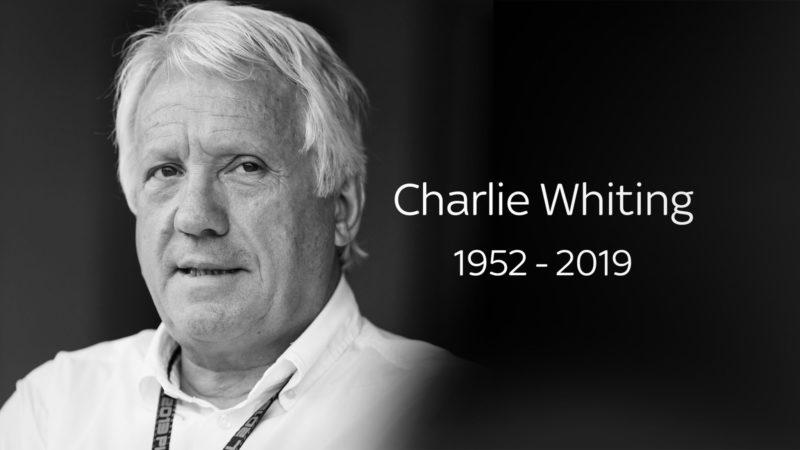 F1 Recap – Charlie Whiting