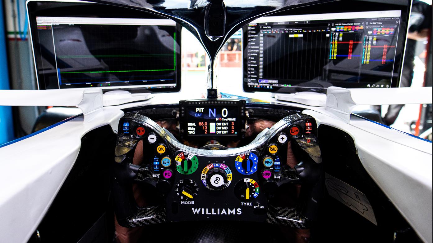 Tutto quello che c'è da sapere su un volante di Formula 1