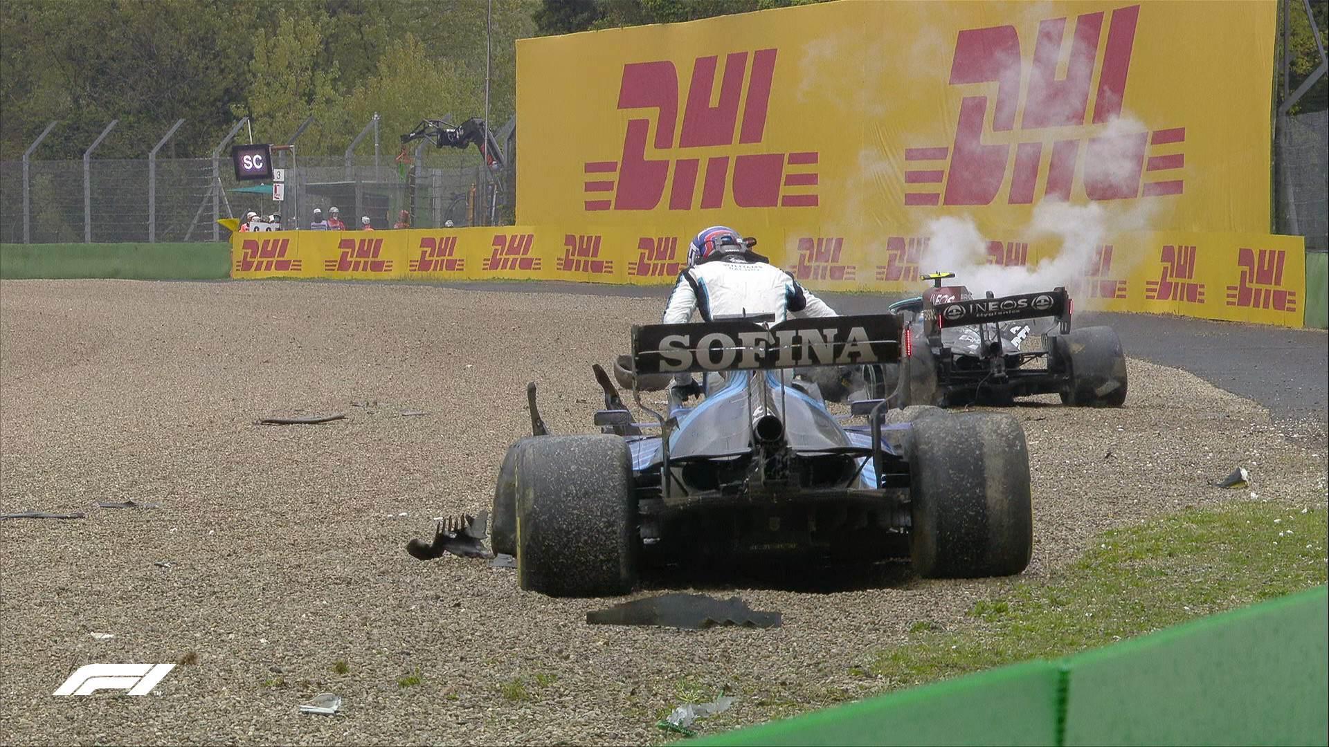 Analisi crash Russell – Bottas: chi ha torto?