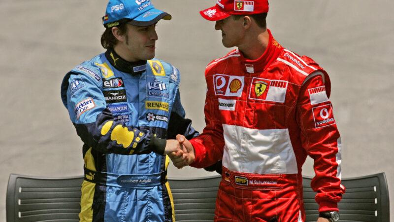 2005 e 2006: Imola, il teatro di Schumacher e Alonso