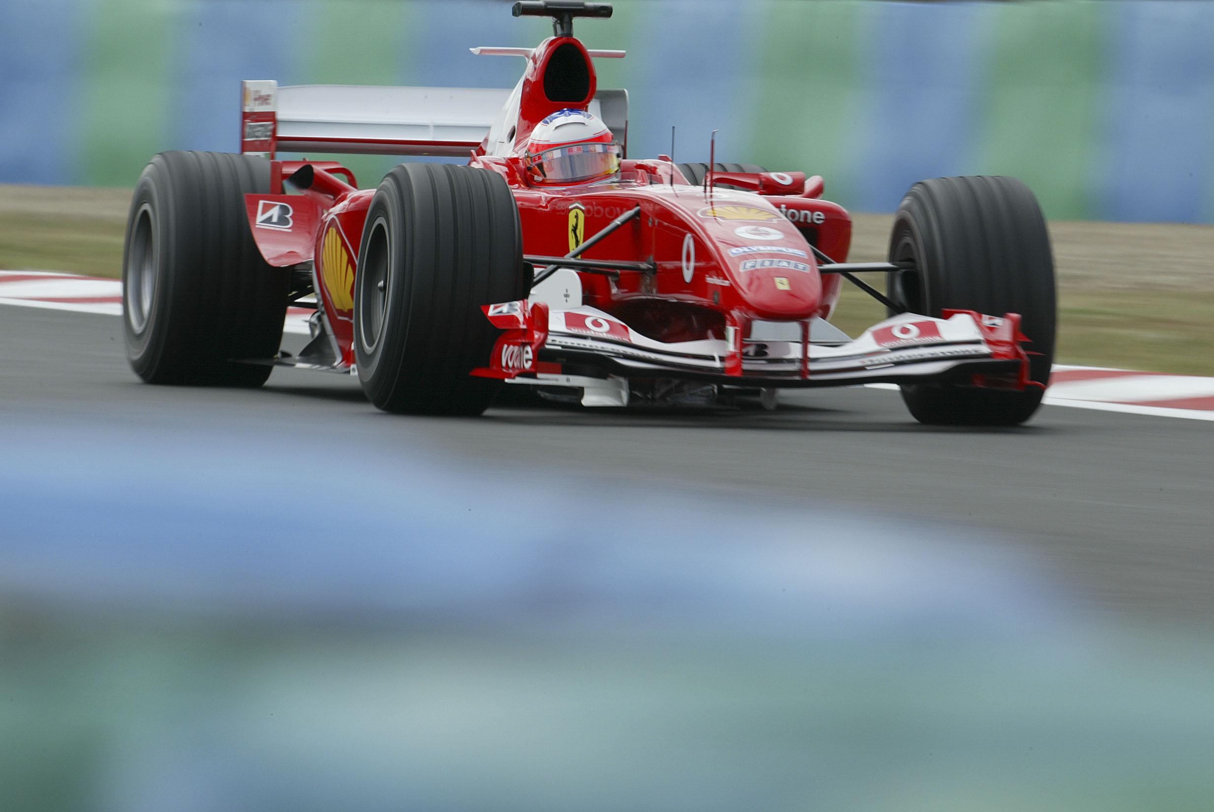4 soste ma vince lo stesso:  Magny-Cours, 2004, Schumacher
