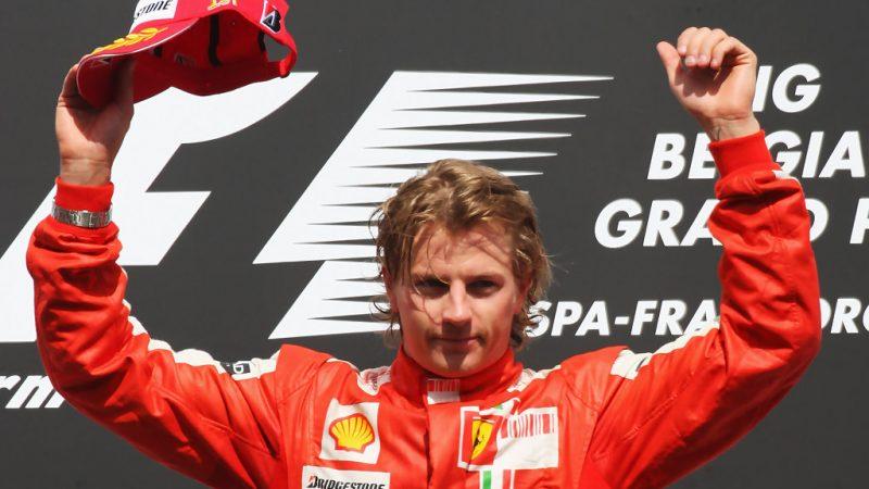 2009: Kimi Re di Spa